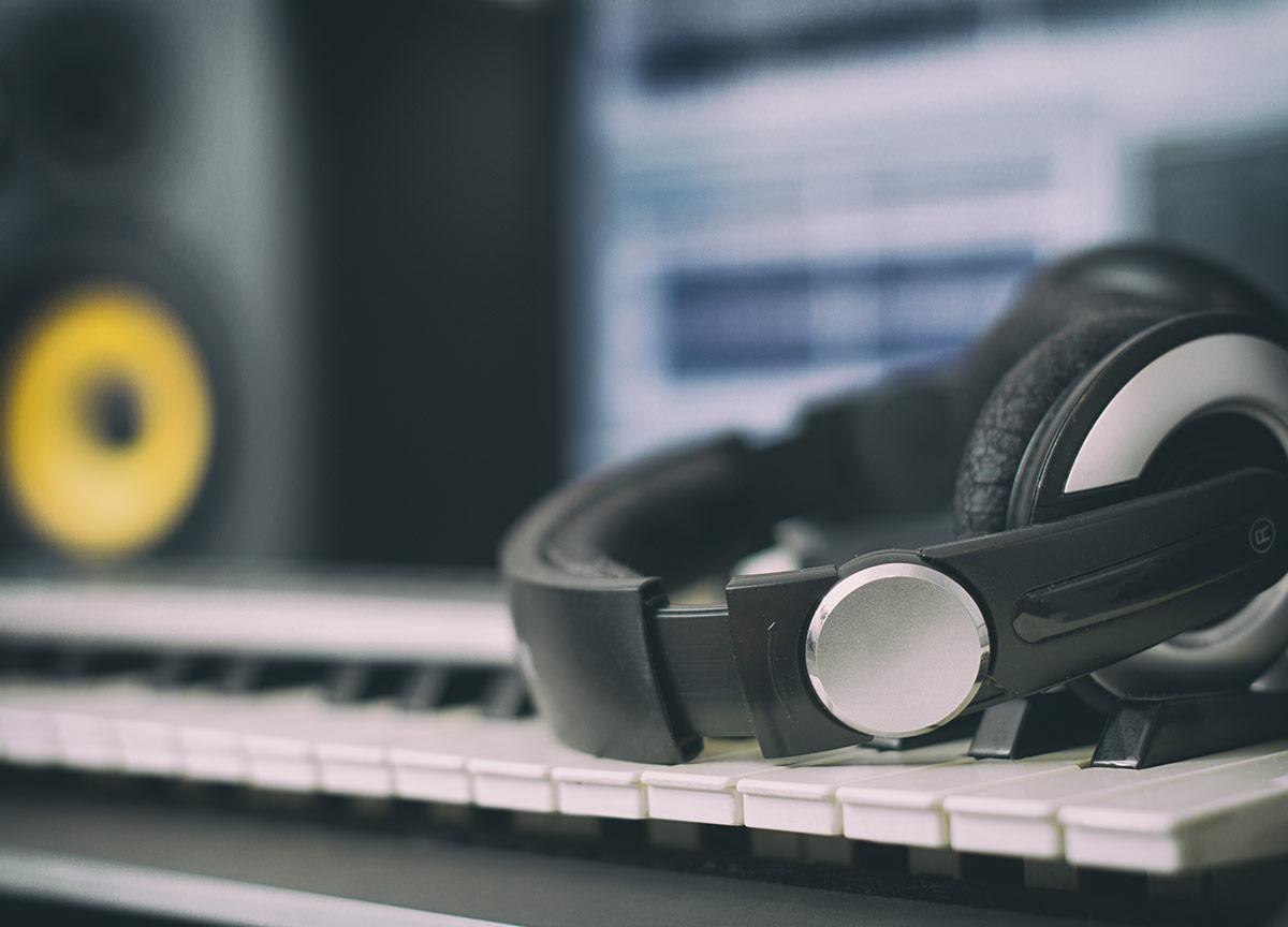 creating in recording studio