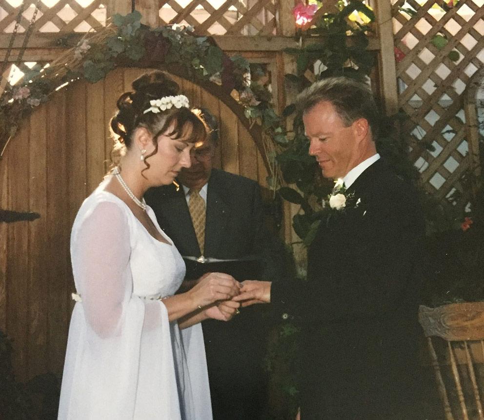 Bonnie and Daryl Wedding