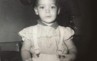 Bonnie Ross as a Child