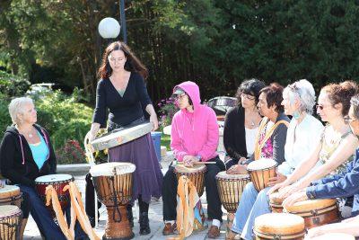 bonnie drum demonstration