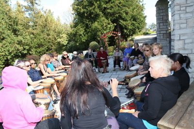 bonnie drum group instruction