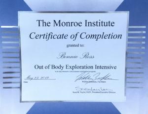 monroe institute certificate