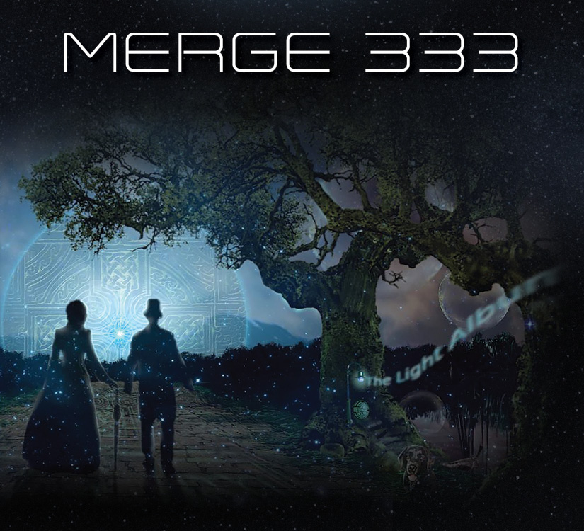 Merge 333 The Light Album Cover